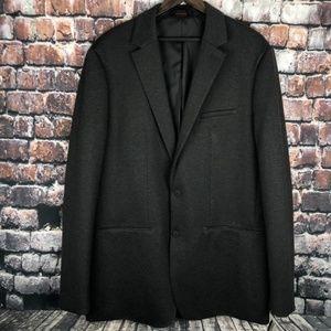 ALFANI NEW Mens Grey Large Button Jacket Blazer